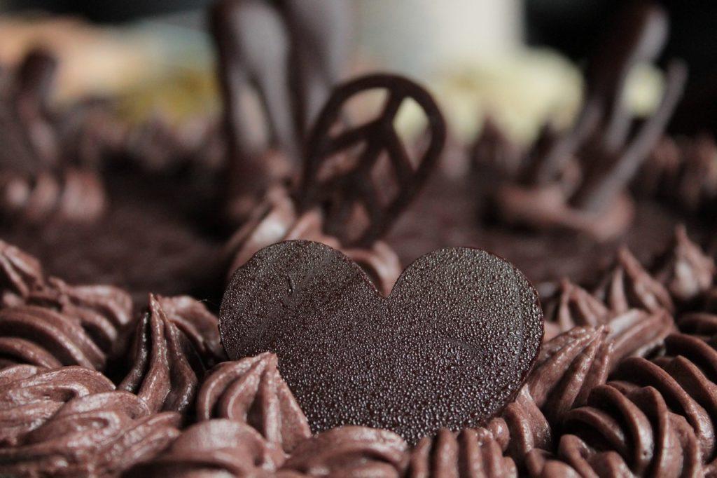 ciasto czekoladowe z bakaliami