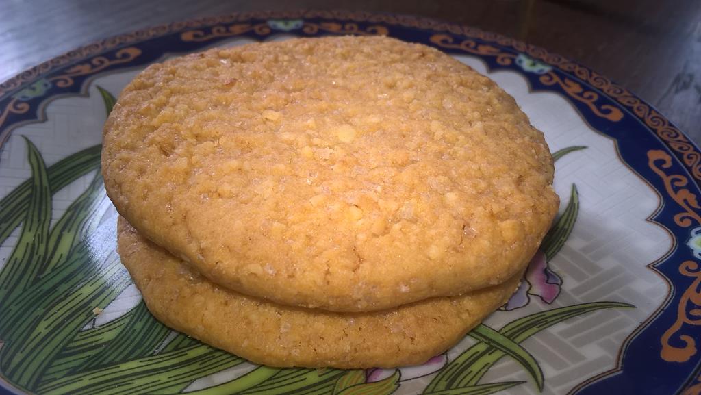 ciastaka migdałowe z pomarańczową nutą