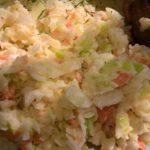 surówka coleslaw