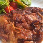 karkówka pieczona lub na grilla w marynacie keczupowo-musztardowej