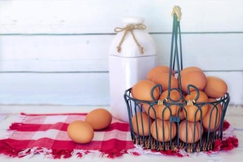 Jajeczna sałatka z porem